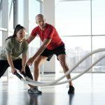 Samen met een trainer aan je lichaam werken
